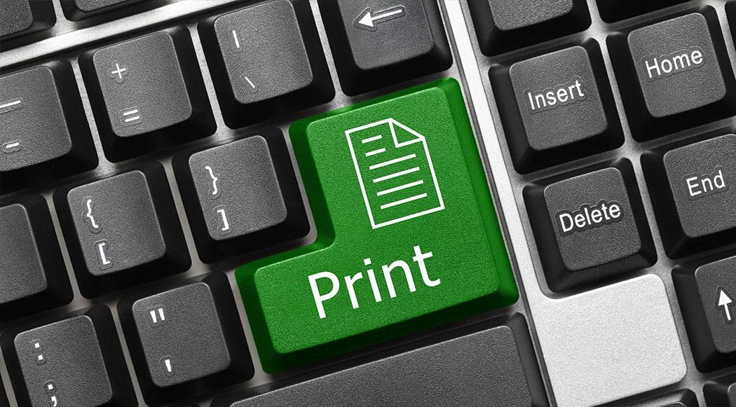 הדפסה בלחיצת כפתור, השכרת ומכירת מדפסות למשרד, פרינטק מיכון משרדי