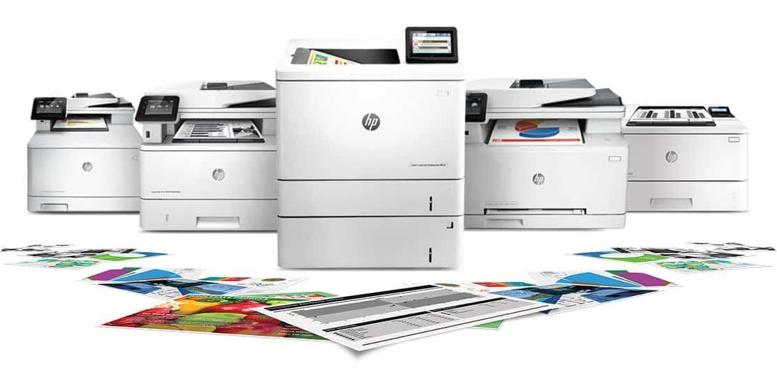 להשכרה מדפסות ומכונות צילום hp מגוון דגמים, פרינטק מיכון משרדי