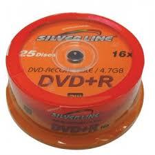 SILVER LINE CAKEX16-R DVD-R/+R 4.7GB X16