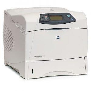 מדפסת לייזר A4 מחודשת שחור לבן HP 4250