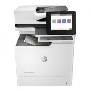 מדפסת לייזר צבעונית משולבת מחודשת HP Ent M681dn