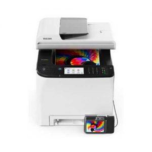 מדפסת לייזר משולבת Ricoh SP-C261SFNw