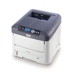 מדפסת לייזר A4 צבע עם טונר לבן דגם OKI Pro7411WT