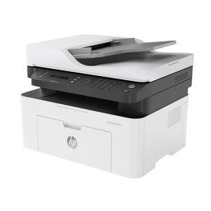 מדפסת לייזר משולבת HP Laser MFP 137fnw 4ZB84A